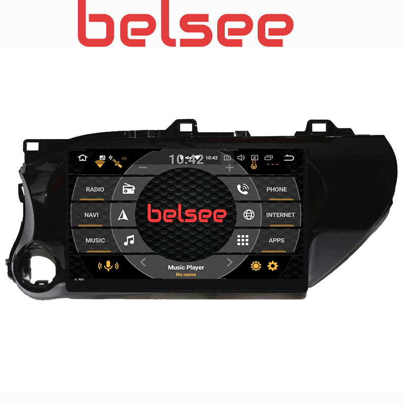 Belsee 10.1 Inch IPS Screen PX5 8 Core 4GB 32GB for Toyota Hilux 2016-2018 Android 8.0 Car Radio Stereo Autoradio GPS NavigationBelsee 10.1 Inch IPS Screen PX5 8 Core 4GB 32GB for Toyota Hilux 2016-2018 Android 8.0 Car Radio Stereo Autoradio GPS Navigation