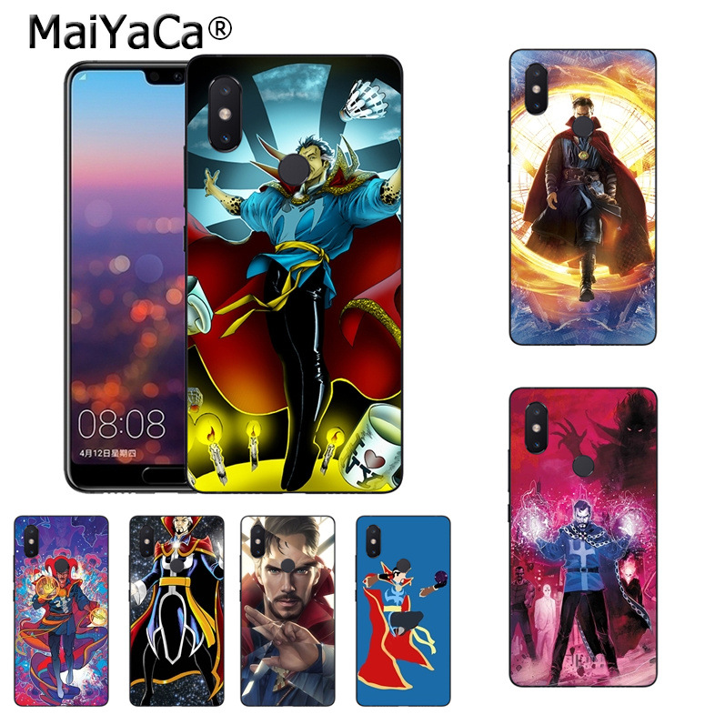 Phone Bags & Cases Maiyaca Doctor Strange Dr Marvel Comics Fashion Cell Phone Case For Xiaomi Mi 8se 6 Note2 Note3 Redmi 5 Plus Note 4 5 Cover Half-wrapped Case