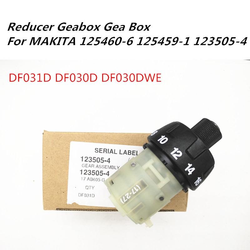 Reducer Geabox Gear Box For MAKITA 125460-6 125459-1 123505-4 DF030D DF031D DF030DWE Drill Screwdrill Reducer Geabox Gear Box For MAKITA 125460-6 125459-1 123505-4 DF030D DF031D DF030DWE Drill Screwdrill