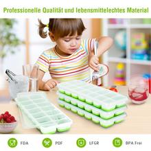 купить New Professional Quality Durable Silicone Ice Cube Tray Ice Cube Mold Ice Box With Lid And Ice Maker Easy De-icing Strategies дешево