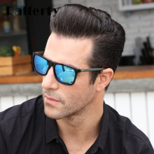 Square Polarized Sunglasses Men UV400
