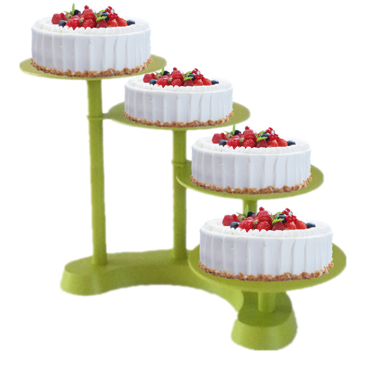 4 Layer Wedding Cake Plastic Rack Baking A Stand Detachable 11 Inch Birthday In Stands From Home Garden On Aliexpress