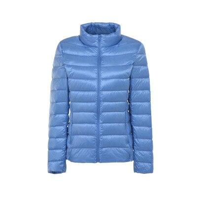 Down     Coat   Women Parkas High Quality 90% White Duck Ultralight   Down   Jacket Female Winter Outwear Zipper Thin   Coat