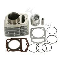 Single Cylinder Engine Top End Rebuild Kit For Honda CB125S CL125S XL125 125cc SL Motorcycle