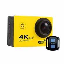 Chaude Smarcent 4 style D'action caméra F60/F60R Ultra HD 4 K WiFi Sous-Marine 30 M Sports de Plein Air Caméra 2.0 «LCD 1080 p 60fps Caméra