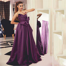514b0ebee6d5e SHJ781 Hot Sale Elegant Robe de Soiree 2019 Purple Long Sleeveless A-Line  Prom Dress Ruched Custom Made Evening Dress