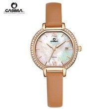 Relogio feminino Marca de Lujo reloj de las mujeres de moda casual personalidad calendario resistente al agua reloj de Cuarzo CASIMA reloj #2614