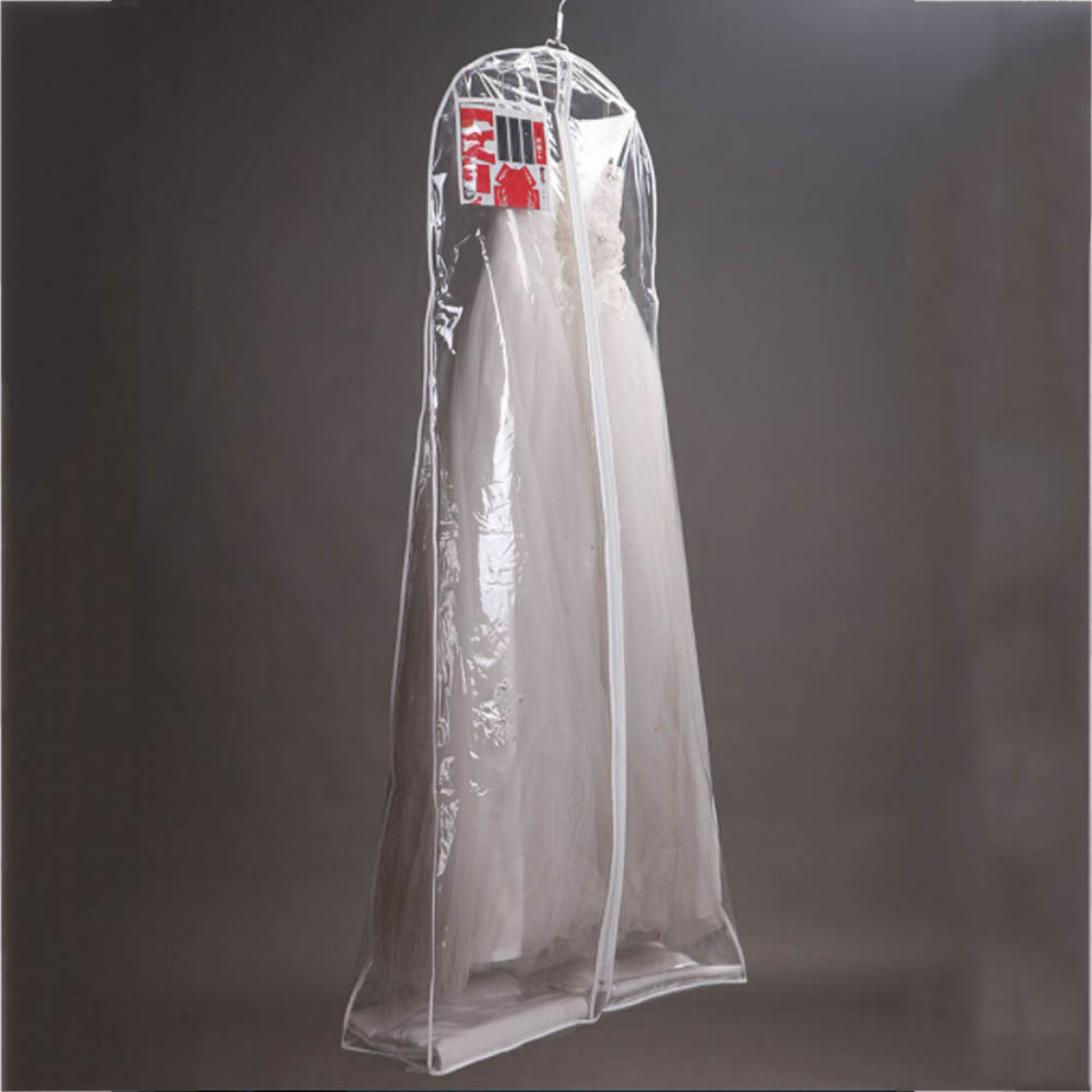 Wedding Gown Preservation Bag: Clear Wedding Dress Cover Storage Bags Dustproof Large