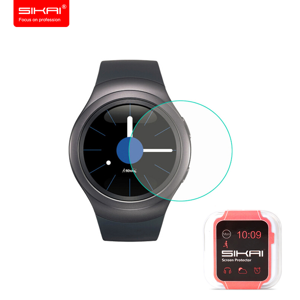 Tempered Glass Screen Protector For Samsung Gear S2 Tempered Film LCD For Samsung Gear S2 Classical Network-connected Wearable