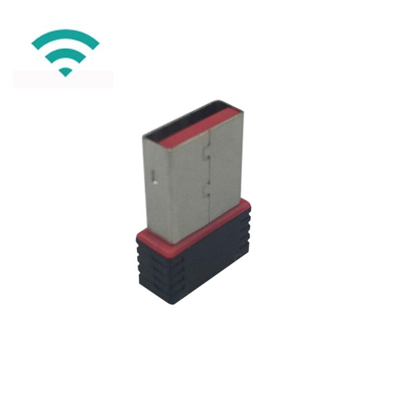 USB 2.0 WiFi Dongle Raspberry Pi 3 Model B Wireless Adapter Dongle 802.11n 150Mbps USB WiFi Adapter For Raspberry Pi 3B+ / 2