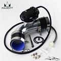 Набор силиконовых шлангов черный + 2 36 '60 мм 90 градусов Фланцевая труба + SQV выдувной клапан BOV IV 4 черный