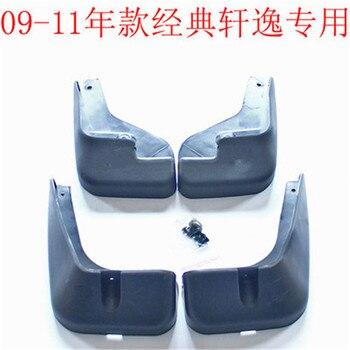 Xe styling nhựa Mud Vành Splash Guard nhựa phụ kiện Xe Hơi cho Nissan Sylphy 2005-2016