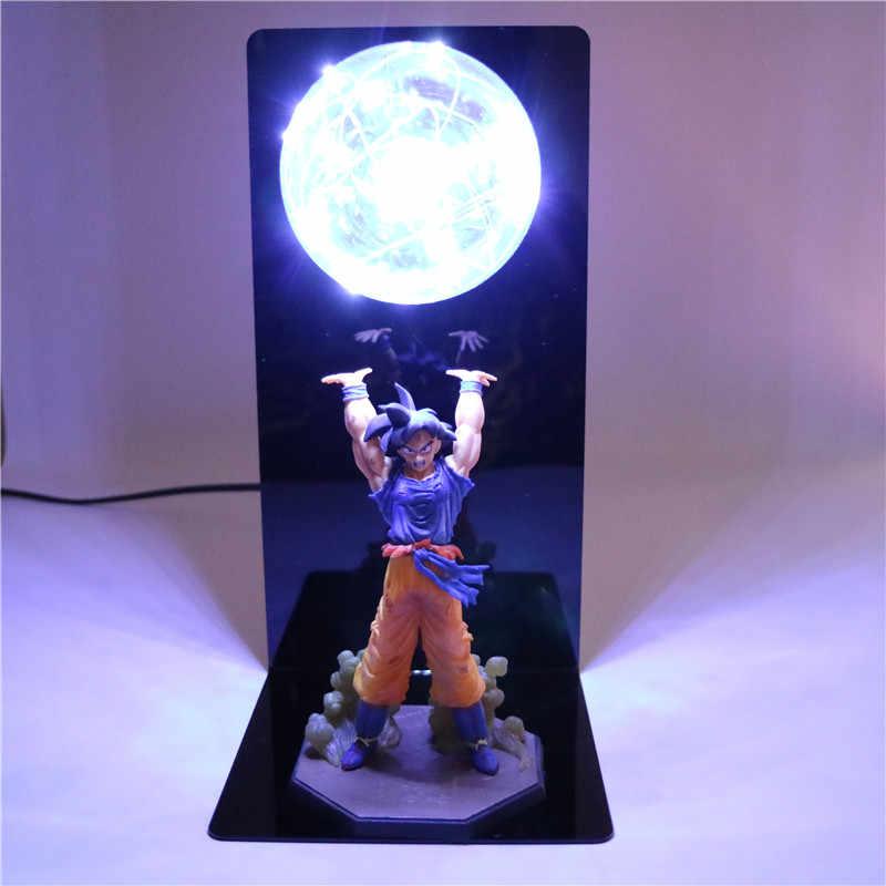דרגון בול Z פעולה דמויות גוקו בן צלמית אסיפה DIY אנימה דגם תינוק בובות LED מנורת לילדים ילדים חג המולד צעצועים