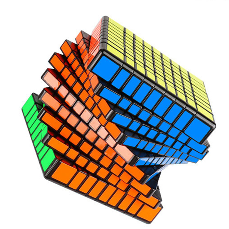MOYU 79MM MF9 9x9x9 Magic Cube 3 Colors Puzzle Professional Speed Cube Magico Educational Toy For Children Cube With Free Stand