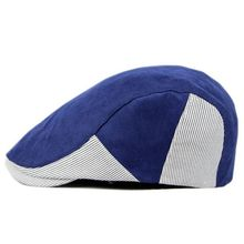 Mr.Kooky Men Women Cotton Beret Peaked Flat Caps Light Comfo
