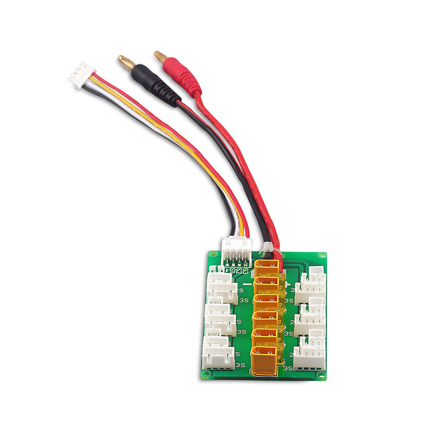 XT30 1S 2S 3S LiPo Charging Board With JST JST-PH 2.0 Connector 1s lipo battery charging board blade inductrix ultra micro jst ph parallel connect plate mcx mcpx page 7 page 6