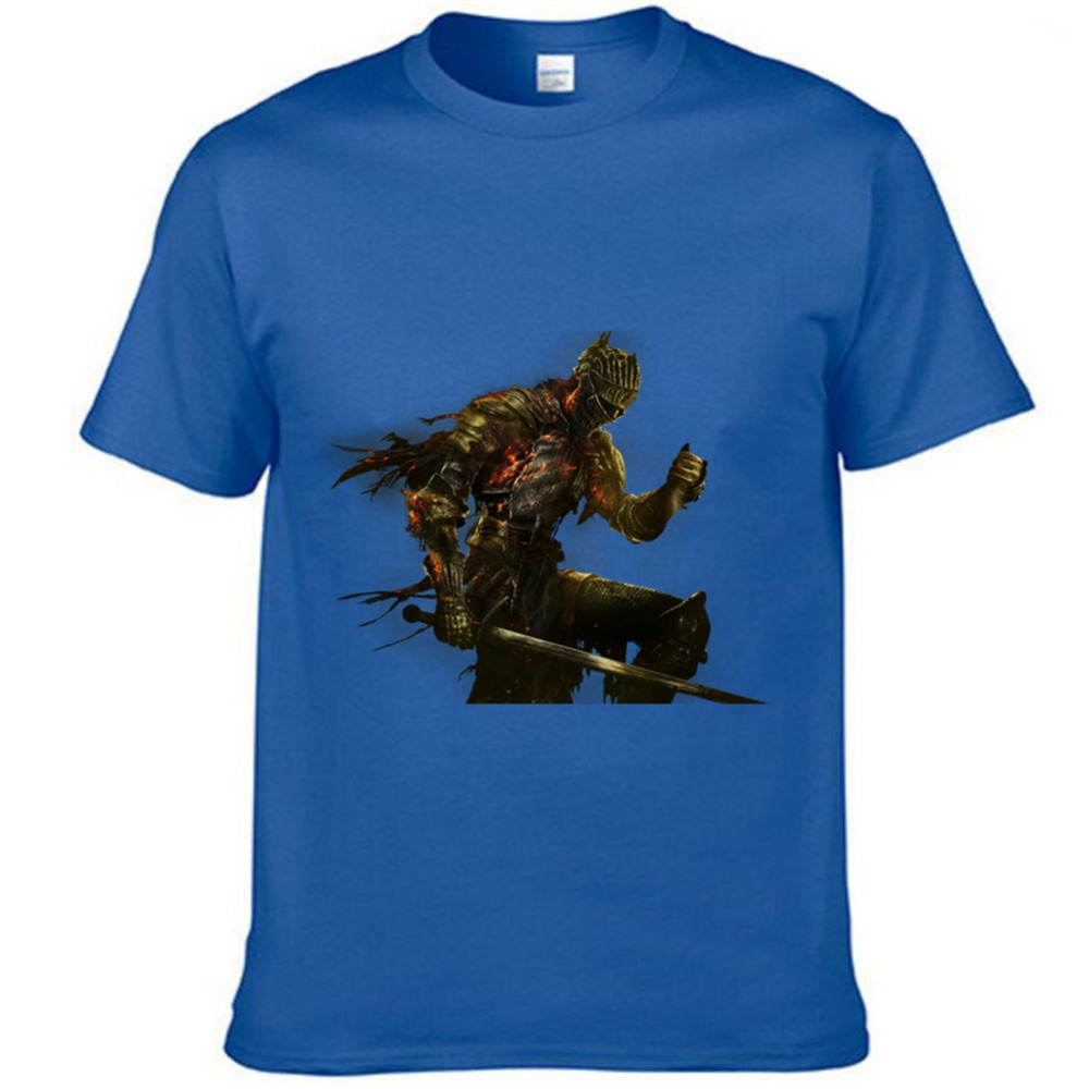 Free Shipping Dark Souls Game 100 Cutton Short T Shirt