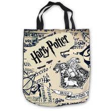 Custom Canvas harry_potter_hufflepuff_ (1) Tote Hand Bags Sh