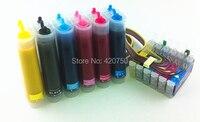 Full sublimation Ink CISS suit for T0811 T0816 , suit for Epson R390 RX590 R270 RX690 RX610 RX615 R290 R295 1410 etc