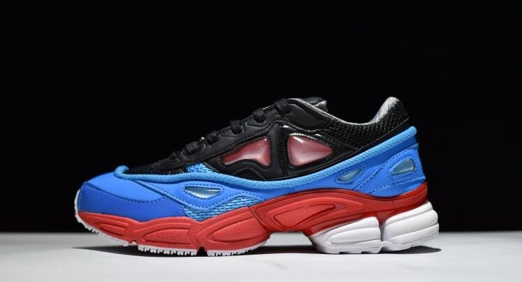 Brand design Men and women Running shoes Outdoor sports raf simons Consortium Ozweego 2 Comfortable and breathable Sneakers Men кроссовки 2015 raf simons adidas ozweego