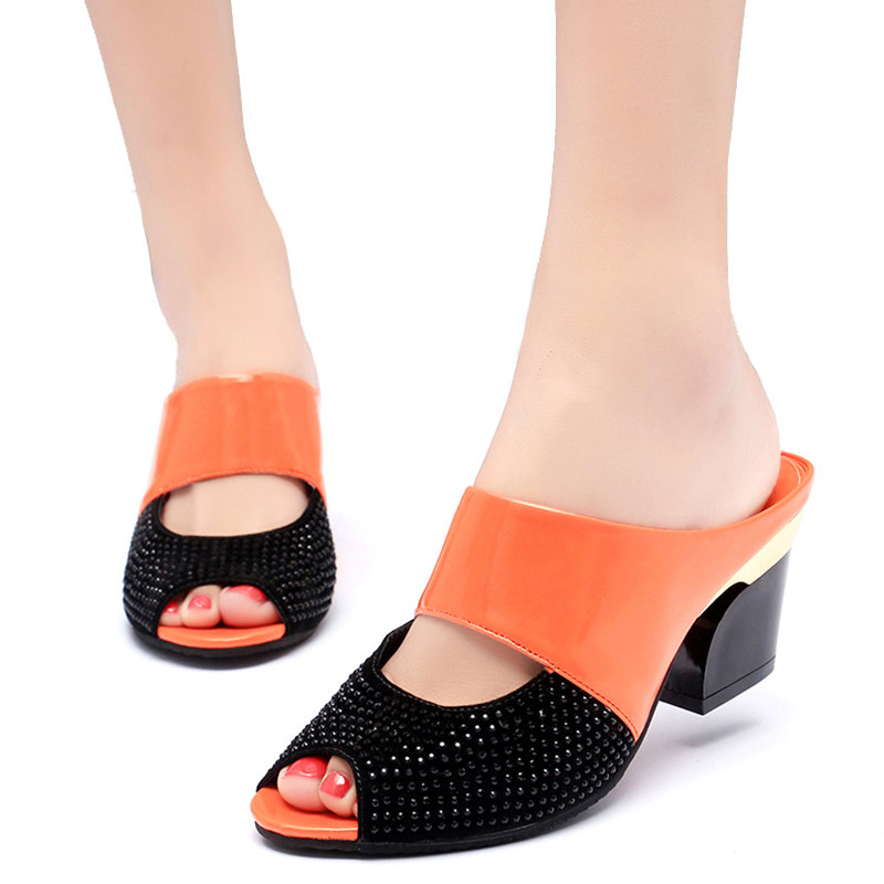 Woman Sandals flip flops wholesale high heels summer sandals 1