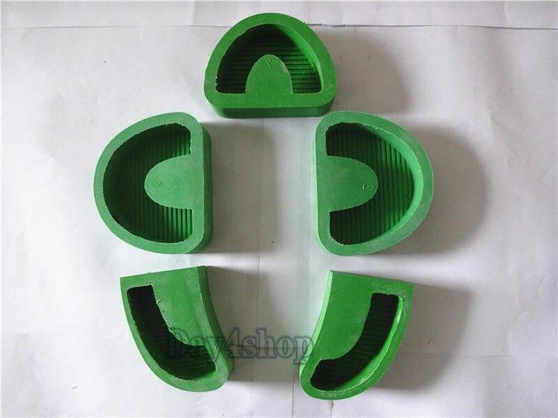 5 pcs/1 set Dental Lab Plaster Model Base Molds