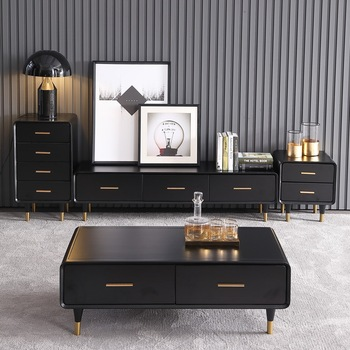 tea table wooden design Living Room TV monitor stand mueble marble leather oval edge cabinet +tv stand table+Coffee centro Table mueble computer painel para madeira soporte de pie european wodden living room furniture meuble monitor stand table tv cabinet