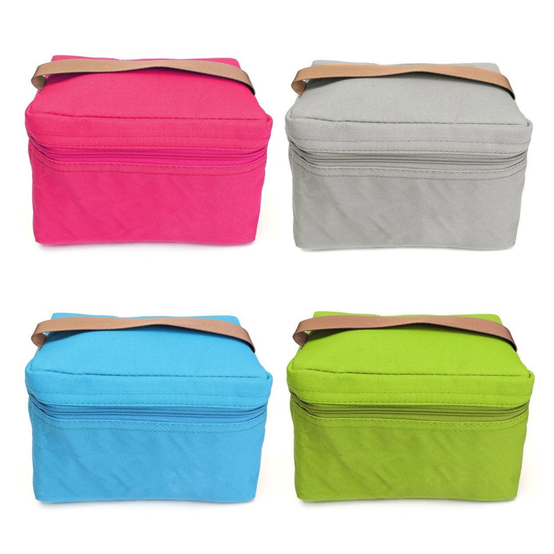 New Thermal Cooler Insulated Lunch Box Storage Picnic Bag Tote Portable Travel Pouch BS88