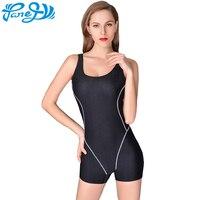 Panegy Women S Waterproof One Piece Quick Drying Fabric Flat Angle Swimsuit Swimwear Sports Backless Bodysuits