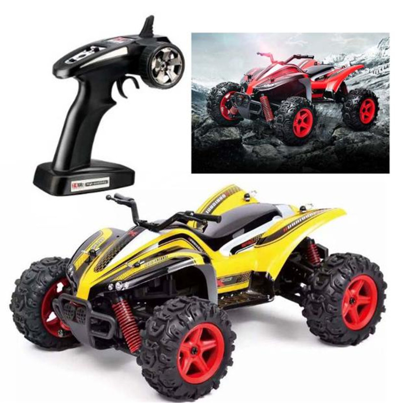 RC Car 2.4G 4CH 4WD Rock Crawlers Driving Car Double Motors Drive Bigfoot Car Remote Control Car Model Off-Road Vehicle Toy P5 2016 best electric toy 4wd05 rc electric rock crawler king1 12 scale rc off road vehicle rechargeable battery