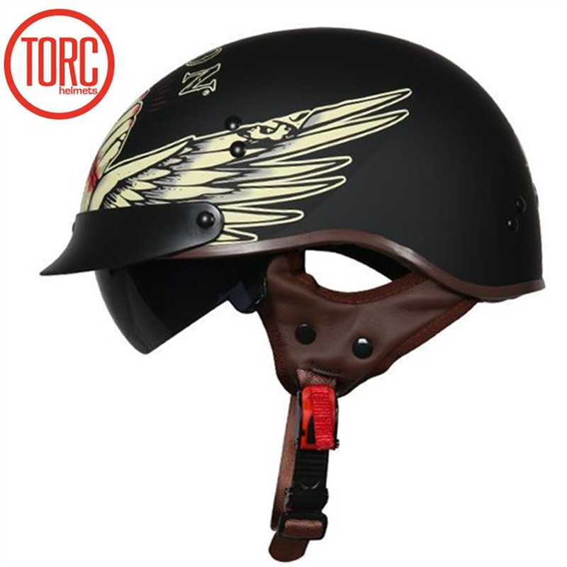 New Arrival 2017 TORC Harley style motorbike helmet Professional Motorcycle helmet washable liner and DOT safety Standard