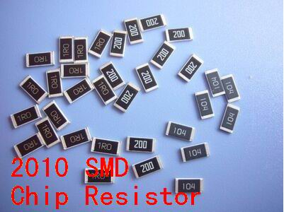 100pcs/lot   SMD Chip  Resistor   2010  2R   2R2   4R7  3.3K   Ohm 5%  Free Shippng