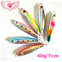Direct manufacturers to accept orders fishing lure throwing bait from afar 40g/60g lead fish lure(China)