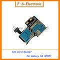 Para Samsung Galaxy S4 i9500 I9505 NOVO Cartão Micro SD SIM Tray Titular Slot Leitor Flex Cabos de Peças de Reposição