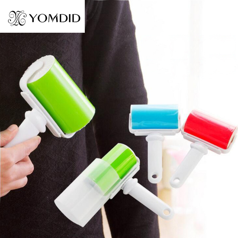 Reusable adhesive Hair Remover clothes clean lint roller carpet cleaning plush fur brush cleaning Dust Remover Cleaner