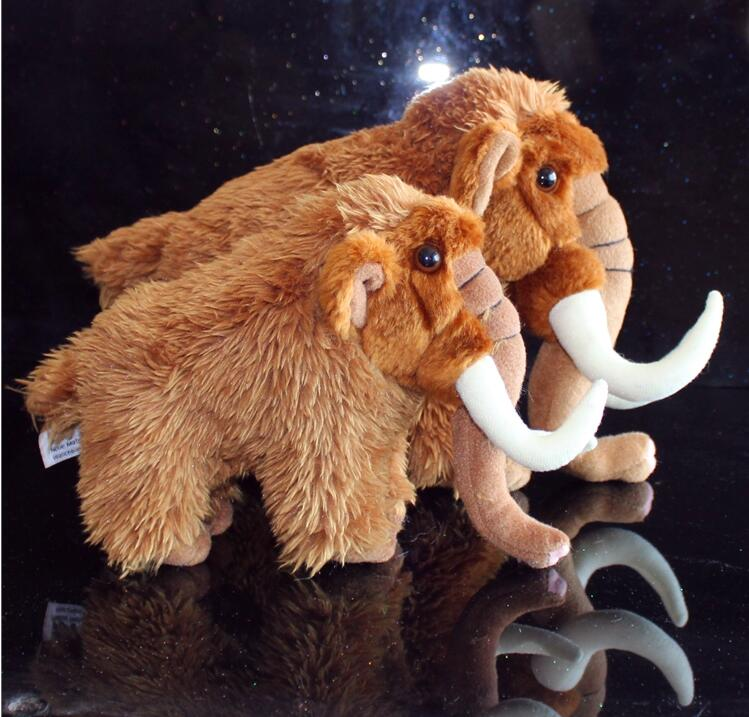 Stuffed Animal Toys Simulation Mammoth Doll  Plush Toy  Elephant Dolls  Children'S Birthday Gift  PP Cotton stuffed toys