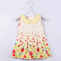 Pure Cotton Kids Girls Dresses For Young Children Miraculous Ladybug Printing Marinette Child Lady Bug Costumes