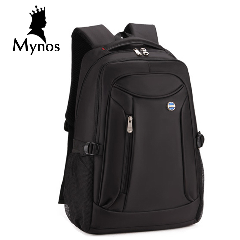 MYNOS Travel Backpack Waterproof Men's BackPack 15.6 Inch Laptop Mochila High Capacity Brand Escolar Designer Backpacks Male sinpaid 3 size backpack waterproof men s back pack 15 6 inch laptop mochila high quality designer backpacks male escolar ff