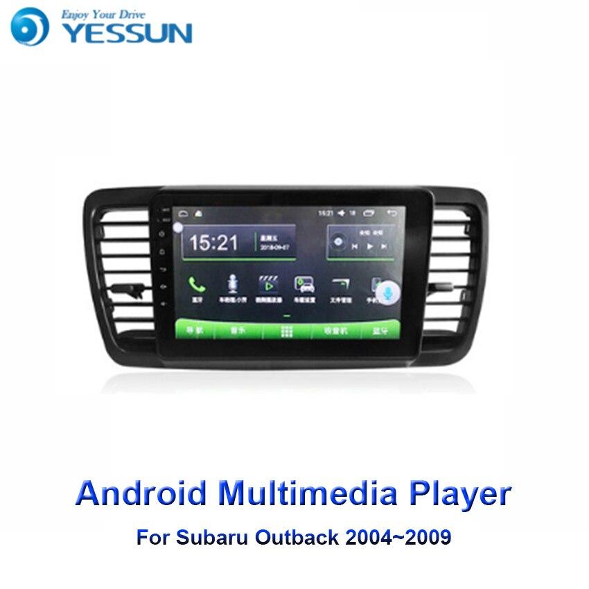 YESSUN pour Subaru Outback 2004 ~ 2009 voiture Android lecteur multimédia autoradio GPS Navigation grand écran miroir lien