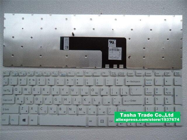 Русская Клавиатура RU макет Для Sony VAIO SVF15 SVF15A SVF15E MP-12Q23SU-9201 SVF15N17CXB AEHK97012203A RU ноутбук kayboard
