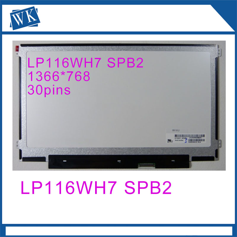 11.6 LCD a matrice LP116WH7 SPB2 LP116WH7-SPB2 IPS schermo del computer portatile led panel 1366*768 30pin11.6 LCD a matrice LP116WH7 SPB2 LP116WH7-SPB2 IPS schermo del computer portatile led panel 1366*768 30pin
