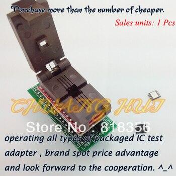 цена на for LABTOOL848 Programmer Adapter LAB-848/LT-848 SPI FLASH Adapter QFN8-DIP/WSON8/DFN8 Size 5x6 IC Test Socket/IC Socket