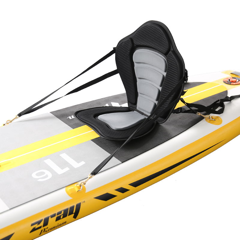 Deluxe Padded Kayak Boat Seat High Backrest SUP seat Adjustable Kayak Cushion with Backrest