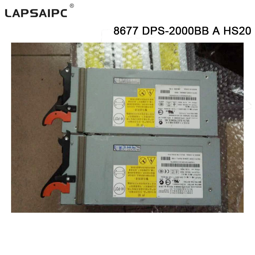 Lapsaipcs 8677 HS20 For IBM power supply DPS-2000BB A HS20 power supplies AC Adapter 2000W 39Y7359 39Y7360DHL free shipping
