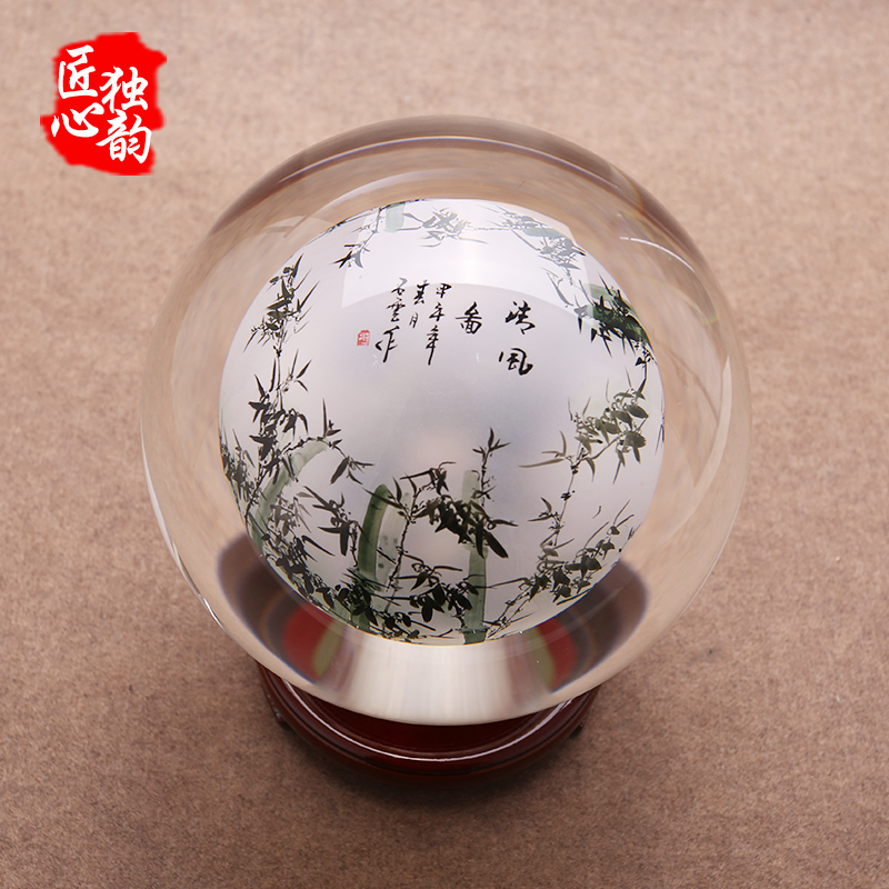 leadership a painted ornaments ball reported crystal crafts alibaba creative com desk item group aliexpress on furniture safety bamboo