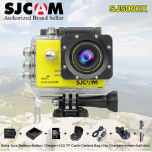 Original SJCAM SJ 5000x edition Sj5000x Wifi Cam 4k 24fps 2k 30fp 12MP Waterproof Camara acuatica Sport Action Camera