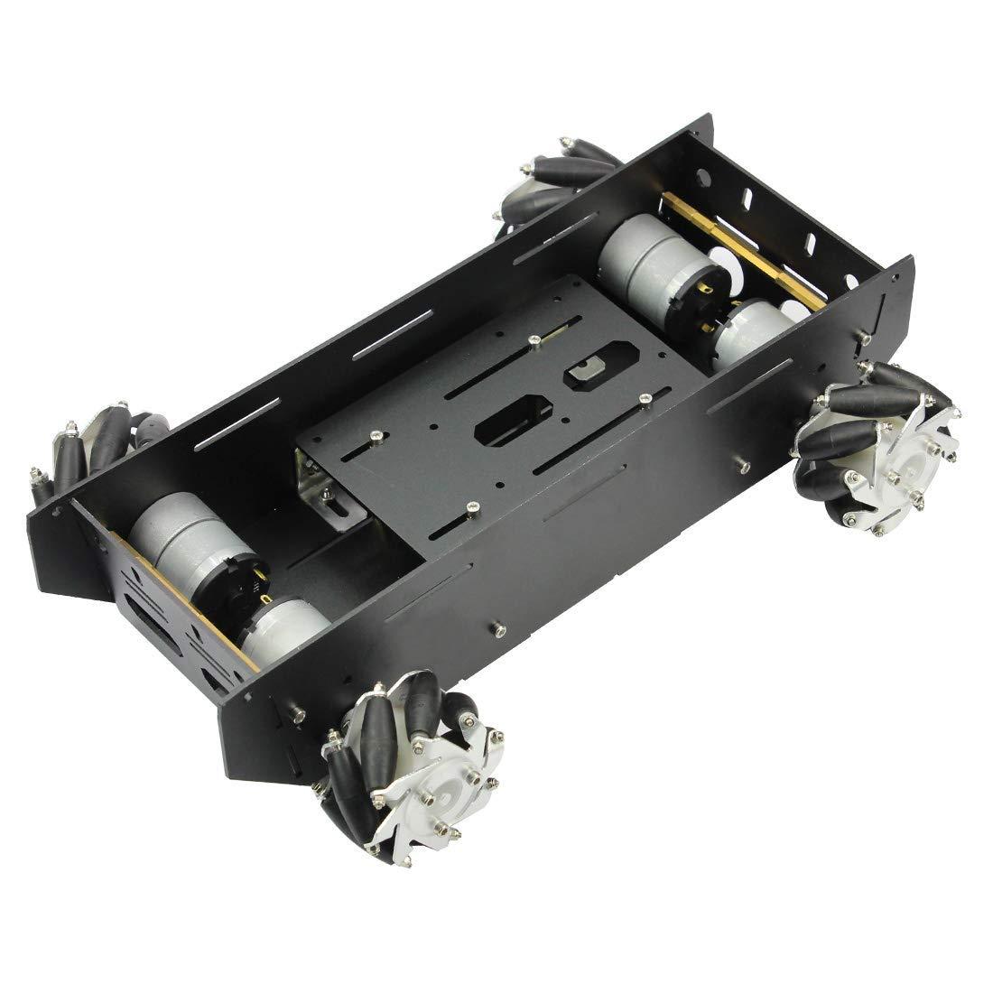 4WD RC châssis de voiture intelligente pour plate-forme Arduino avec moteur 12 V bricolage 4 roues Robot - 5