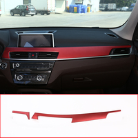 For BMW X1 F48 2016 18 ABS Plastic Car Interior Center Console Protection Panel Cover Trim Accessory For BMW X2 F47 2018