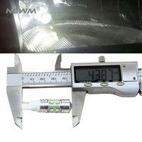 2x T10 194 W5W CREE Chip Led White Yellow Red 50W With Len Projector Aluminum Case
