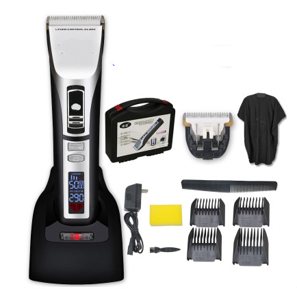 Professional Electric Mens Hair Clipper LED Show Rechargeable Hair Trimmer For Salon Barber Hair Cutting Machine Speed ControlProfessional Electric Mens Hair Clipper LED Show Rechargeable Hair Trimmer For Salon Barber Hair Cutting Machine Speed Control